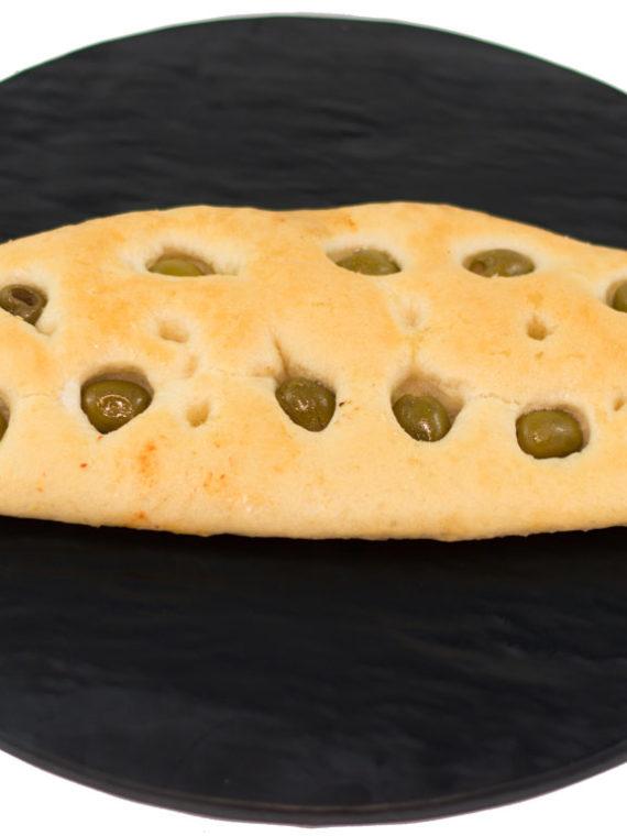 prodotti da forno schiacciatina alle olive