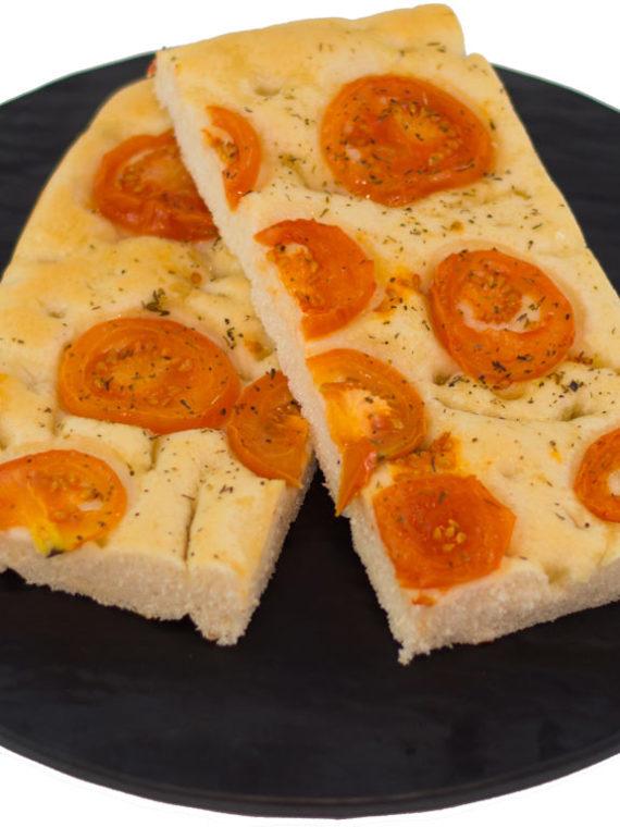 prodotti da forno focaccia ai pomodorini